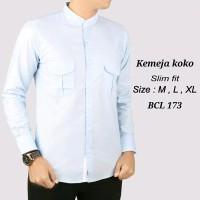 Best Baju Koko Modern Semi Slimfit KKL03 - Kemeja Muslim - Gamis Pria