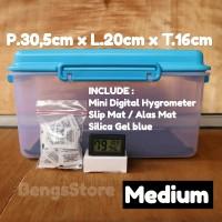 Drybox - Dry box Kamera Dslr Miroles Free Hygrometer