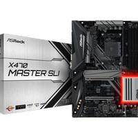 ASRock X470 Master SLI AM4 AMD Micro ATX Mainboard For 2th Gen Ryzen