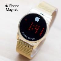 Jam Tangan Wanita / Iphone HC-11181 + Box + Batre Cdngan - HITAM ROSE