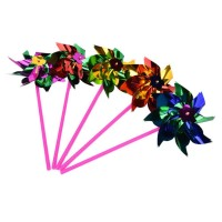 Berkualitas Tradisional Mainan Anak Kincir Baling Baling Bunga