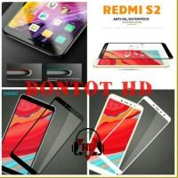 new colection Xiaomi Redmi S2 Tempered Glass Warna Full Layar HP Anti
