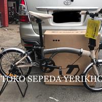 BARU READY Sepeda Lipat 16 United Trifold ( Lipatan Model Brompton )