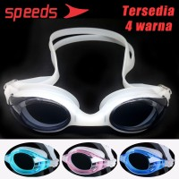 Kacamata Renang Anak Remaja Speedo Speeds Anti Fog UV Elastis LX 4200