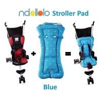 Alas Stroller ISport Blue Polkadot