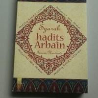 Buku Syarah Hadits Arbain Imam An-Nawawi
