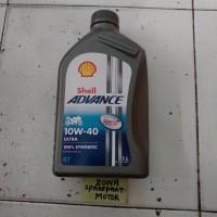 Oli / Olie Shell Advance Ultra 100% Synthetic 10w-40