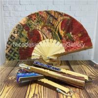 Souvenir Pernikahan - Kipas Batik Besar