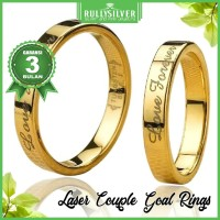 Promo CIncin Laser Couple Goal Ring Termurah