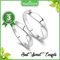 Promo Cincin Perak Couple Best Sweet Ring