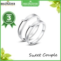 Promo CIncin Kawin Murah Couple Sweet Ring
