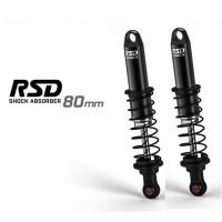 Gmade RSD Shock 80mm Black (2pcs) [GM23604]