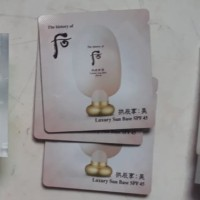 The history of whoo luxury sun base spf 45
