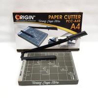 Paper Cutter Origin A4/Pemotong Kertas A4 (Hitam) Origin A4R PCC-A4R
