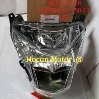 SILAHKAN DI BORONG REFLEKTOR LAMPU DEPAN ASSY LED SATRIA FU 150 F1 FI