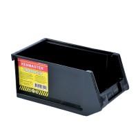 Kenmaster Plastik Stackable Hitam SK01