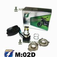 Lampu LED depan - RTD 3 Mata / 3 Sisi / 3 titik AC DC [ORIGINAL]