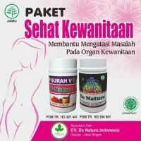 Paket Obat Keputihan Herbal De Nature