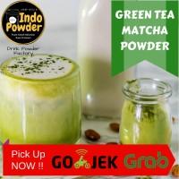 Green Tea Powder 1Kg / Matcha Powder 1 Kg / Bubuk Minuman Green Tea