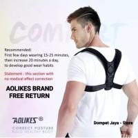 Penyangga Punggung Shoulder Back Support Belt Posture Corrector