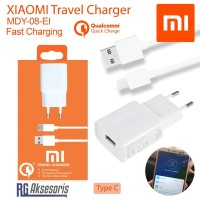 Charger Xiaomi Original 100% TYPE C QUALCOMM 3.0 Fast Charging MDY08EI