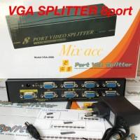 VGA SPLITER 1 TO 8 PORT + ADAPTOR / VGA SPLITTER 8 PORT