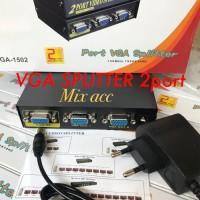 Vga Spliter 2 Port / Splitter vga 1-2