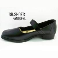 SEPATU PANTOFEL PASKIBRA PDH SEKOLAH Wanita hitam Limited