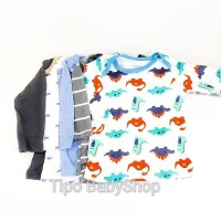 Kaos Lengan Panjang Bayi Laki Carters Boy 3 Bulan
