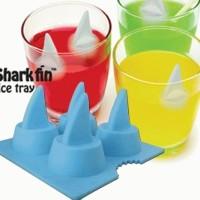 Cetakan Es Jelly Coklat Pudding Ice Cube Mold Sirip Ikan Hiu Shark Fin