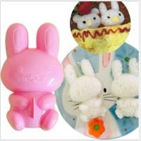 Cetakan Bento Nasi Rice Sushi Mold Animal Kelinci Rabbit Bunny Sendok