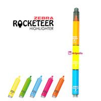 BYO (Blue Yellow Orange) Zebra Rocketeer Highlighter -Stabilo Satuan