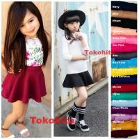 Bubble Skirt Rok Scuba Anak Premium Cantik dan Lucu
