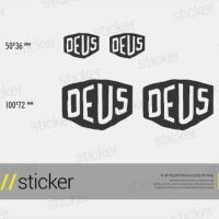 Deus Ex Machina 01 - Cutting Sticker Stiker Oracal 8937b9ff94