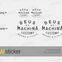 Deus Ex Machina 04 - Cutting Sticker Stiker Oracal 8d877dd7e3