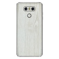 Skin Handphone Protector LG G6 - 3M White Wood