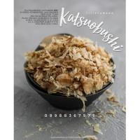 MURAH 100 gr KATSUOBUSHI/BONITO FLAKES/CAKALANG ASAP/SERUTAN CAKALANG