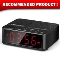 Jam Meja Alarm Weker Digital + Speaker Mini Bluetooth + Radio FM