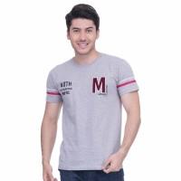 METALIZER 7007 Tumblr Tee T-Shirt Kaos Cowo Katun Premium abu abu