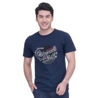 METALIZER 7004 Tumblr Tee T-Shirt Kaos Cowo Katun Premium Navy