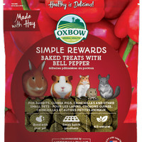 Oxbow Simple Reward Baked Treat Bell Pepper 60gr Snack