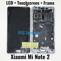 LCD TS Touchscreen Fullset Original Xiaomi Mi Note 2