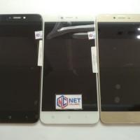 Aksesoris HP Handphone LCD FULLSET XIAOMI REDMI 4X TOUCHSCREEN Putih