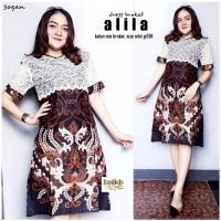 Batik SOlo Dress Brokat Alila Bumi Batik Amanah Surakarta 90.000