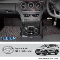 Karpet Mobil EVA Toyota Rush 2018 Trapo Indonesia Baris 1&2 saja