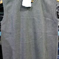 Sweater Rompi V Neck KERAH V Pria Warna Polos Harga MURAH BAGUS 14009