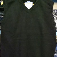 Sweater Rompi V Neck KERAH V Wanita Warna Polos MURAH BAGUS - 14009
