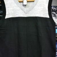 Sweater Rompi V Neck KERAH V Pria Warna Kombinasi Harga MURAH - 14004