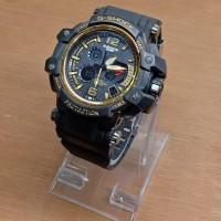 JAM TANGAN CASIO G-SHOCK MUDMASTER KW SUPER BLACK GOLD