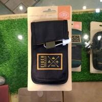 Tas Sarung HP Eiger Handphone Case Vessel Basic Black Hitam 91000 3089